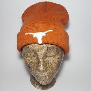 280855ab2c970 Vintage Texas Longhorns NCAA Beanie Winter Hat Cap